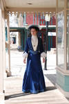 1901 Walking gown