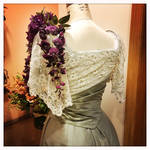 1901 Ball Gown - Back Detail