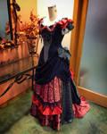 1878 Victorian Gown