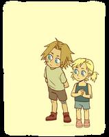 Edwin kids by BlueOrca2000