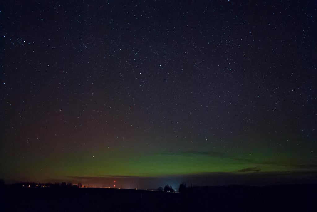 Aurora borealis by Irkaaa
