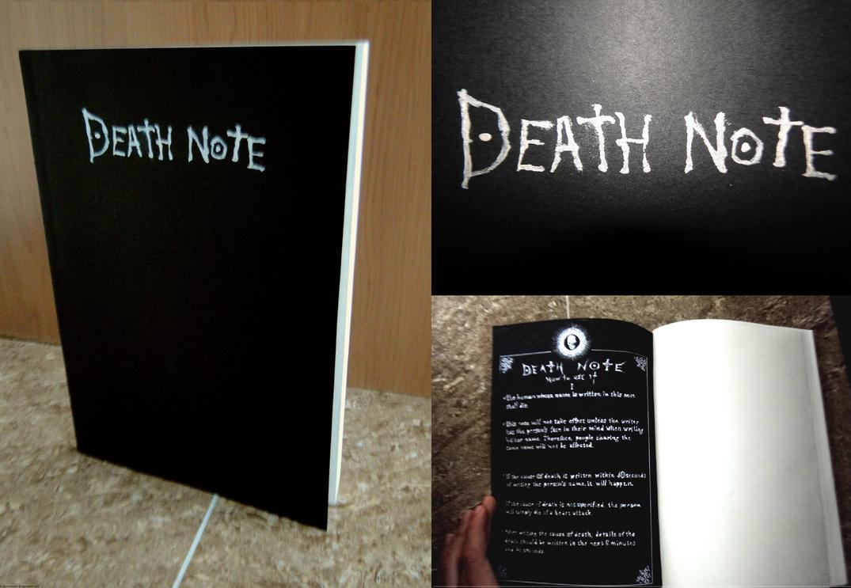 Handmade Death Note Replica by daniel10alien