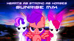 Hearts as Strong as Horses (Sunrise Mix) Cover art