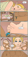 Zelda and Micro Link