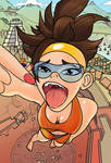 Tracer Giantess by leper