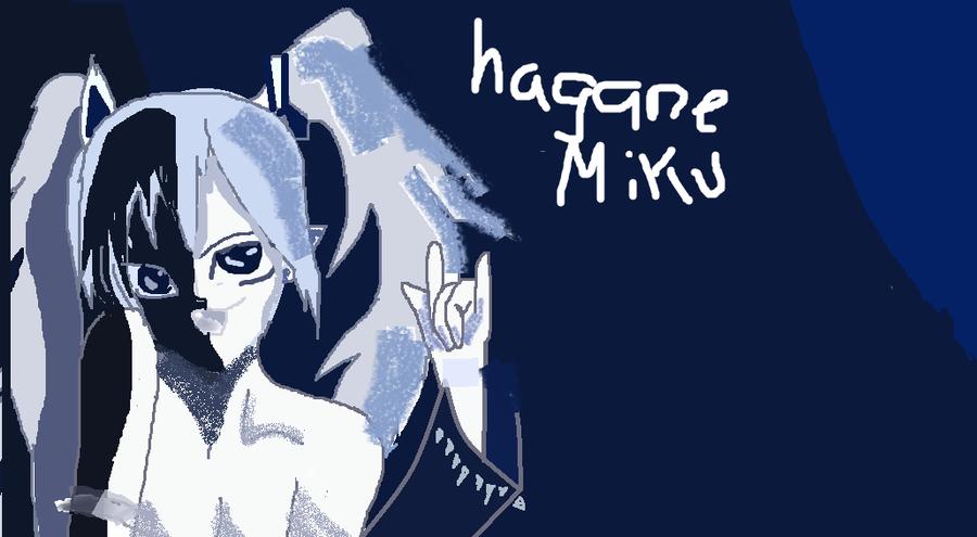 Hagane Miku by TheDarkEvilGoddess14