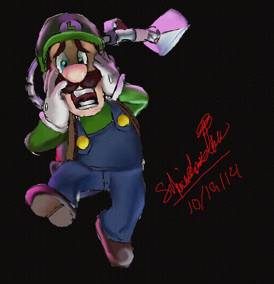 Luigi: Luigi's Mansion by TheDarkEvilGoddess14