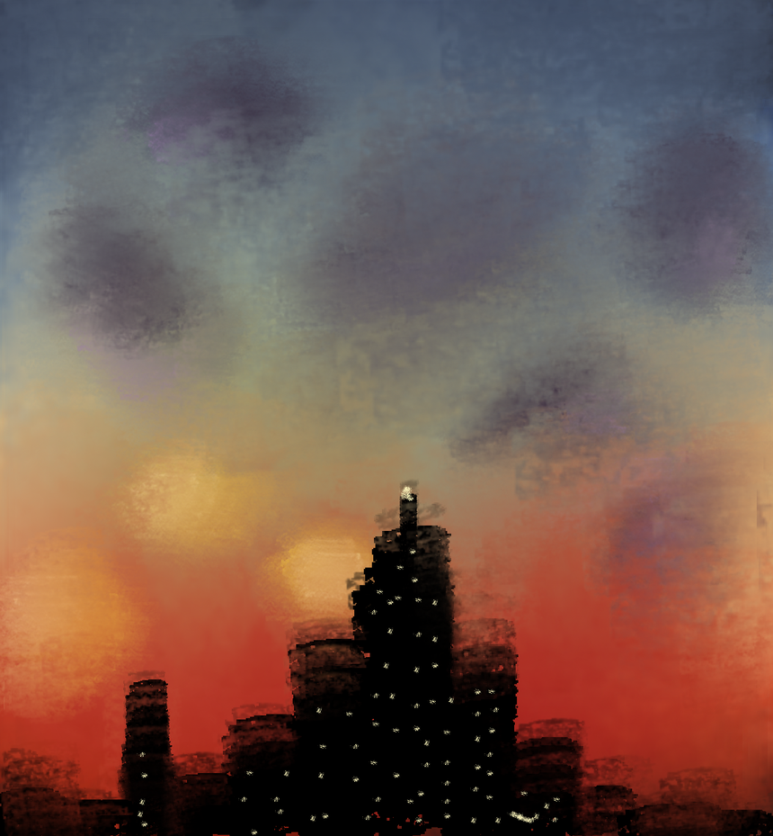 City Of Red by TheDarkEvilGoddess14