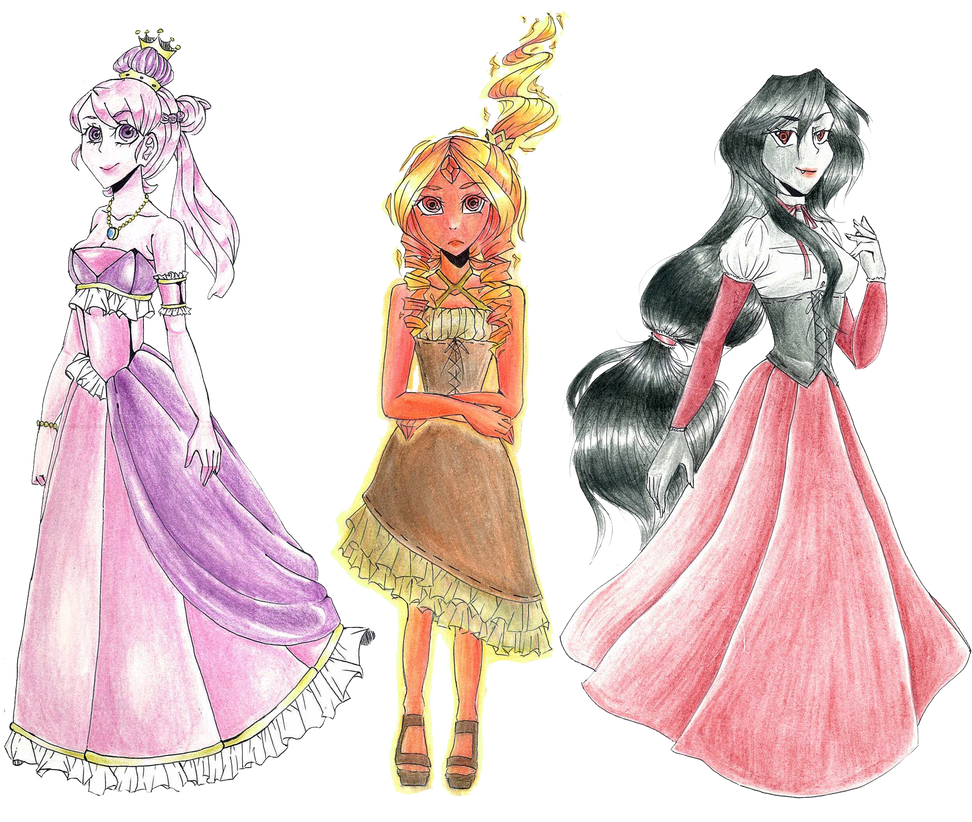 Adventure Time - Royals by midori555