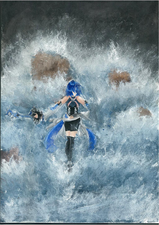 Kingdom Hearts - Tide to Tide by midori555