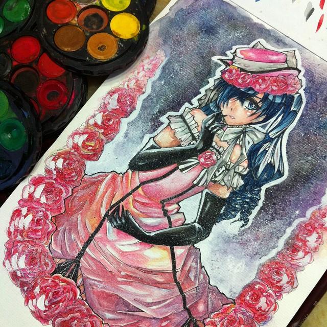 Lady Phantomhive by midori555
