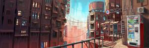 The rising city
