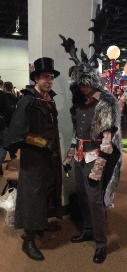 Bloodborne Brador and Hunter Cosplay by ColdSeduction