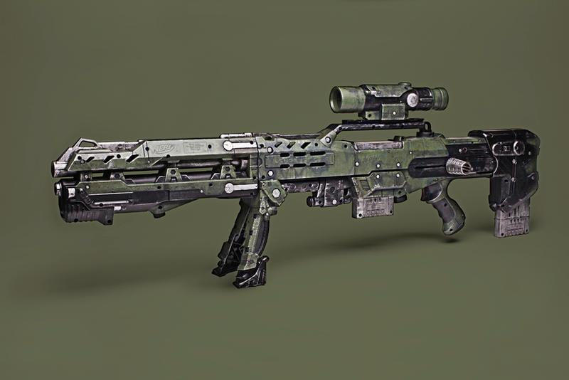 Nerf Longshot CS-6 WWII Mod