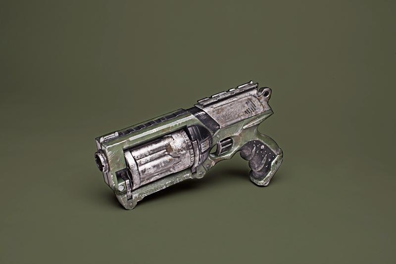 vulcan steampunk blaster
