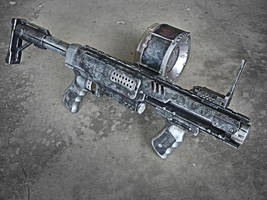 Nerf Raider Zombie Gun by meandmunch