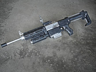 Nerf Recon M4 Battle Rifle Mod by meandmunch