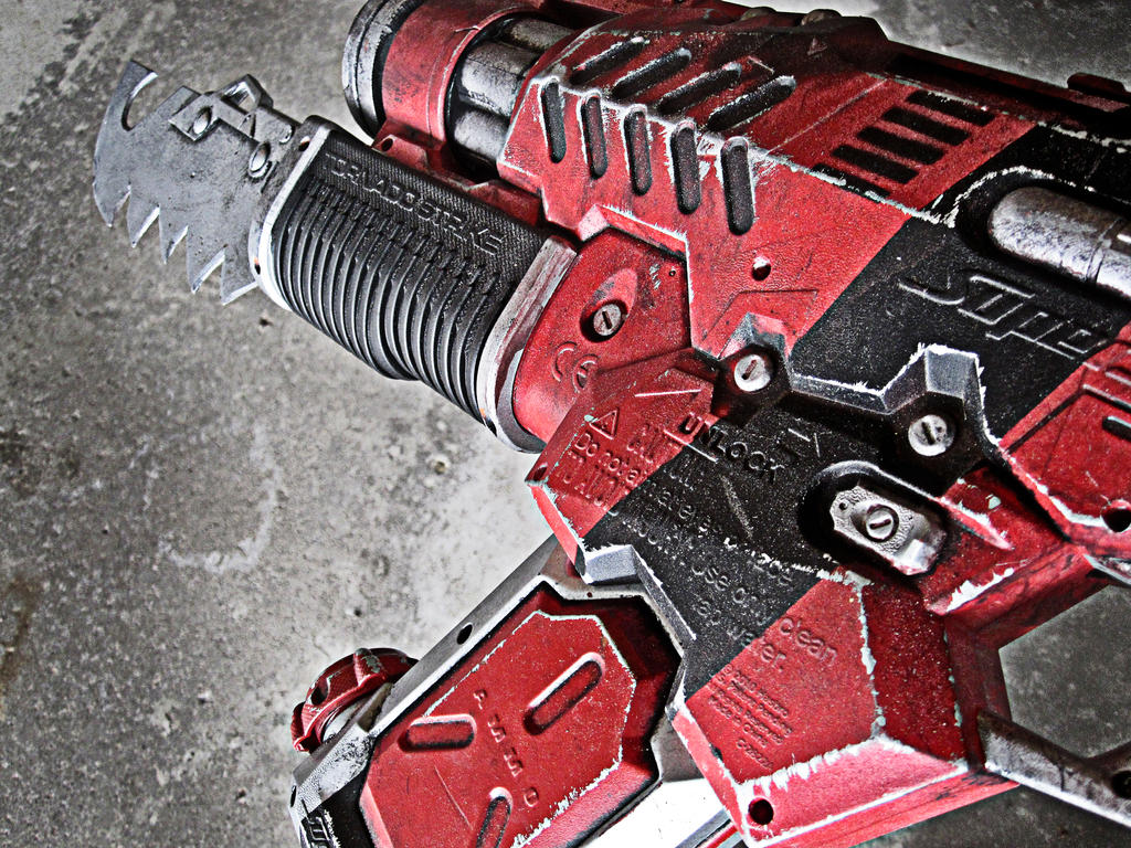 Nerf Gears of Warhammer Mod C by meandmunch