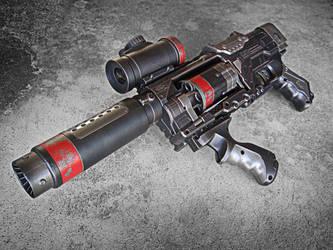 Nerf Spectre Steampunk SWAT by meandmunch