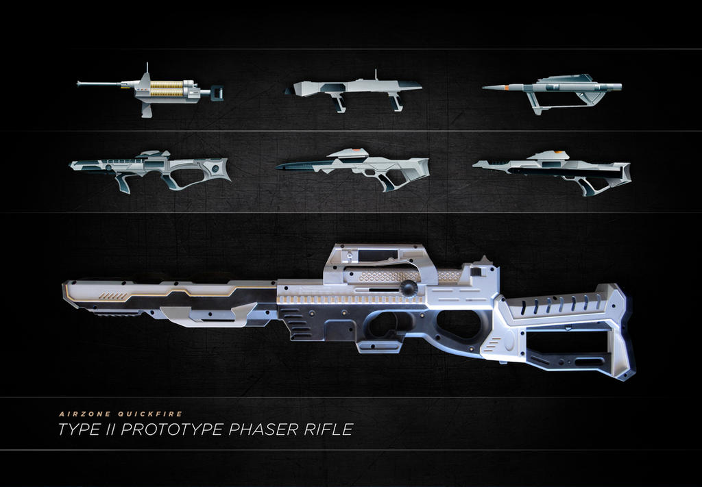 AirZone Phaser Rifle by meandmunch
