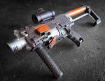 Nerf Barricade MP7 Mod
