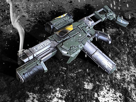 Halo 4 Inspired Nerf Praxis