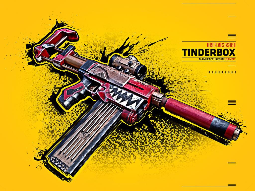Borderlands Inspired Tinderbox by meandmunch