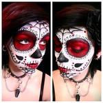 Sugar Skull Makeup by PaintedPassion99