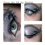 Purple, Blue, and White Fairy Beauty Eye Makeup by PaintedPassion99