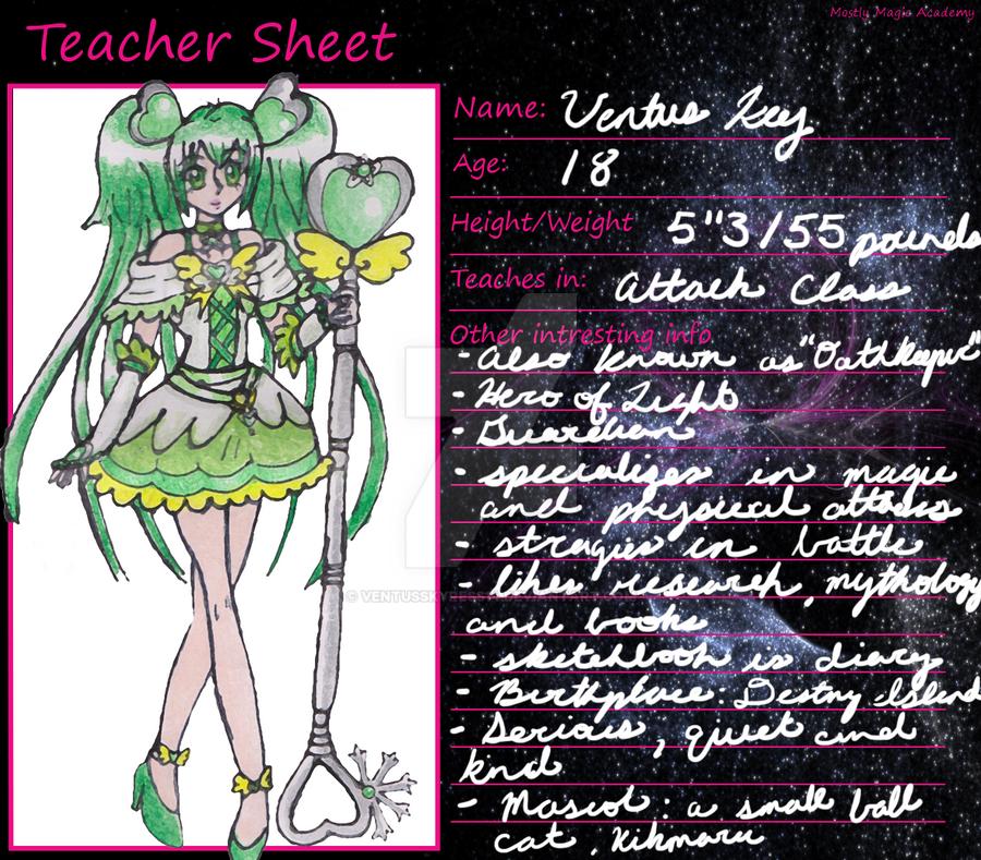 MMA Teacher Sheet by VentusSkyress14
