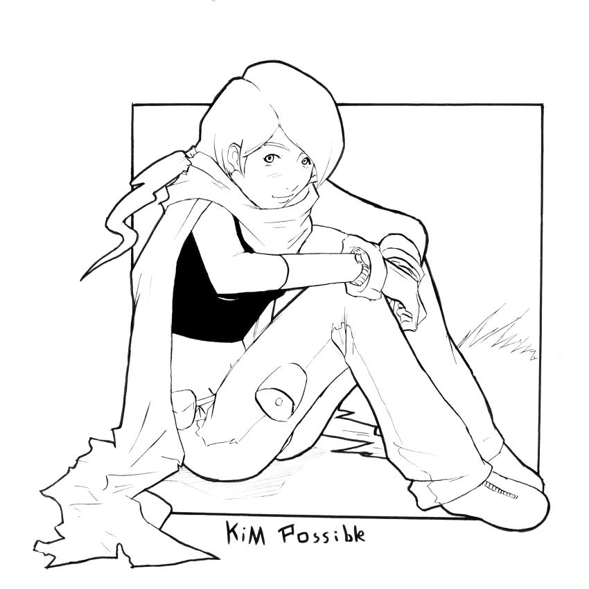 Kim Possible Cover lines by Mr-J-Hahn