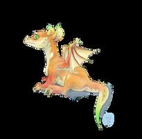Orange dragonling adoptable - CLOSED