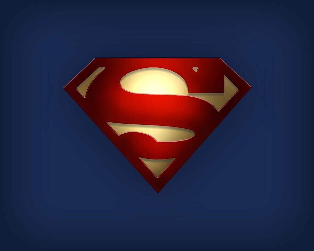 Superman logo with gold by thetyrant on deviantart superman logo with gold by thetyrant biocorpaavc