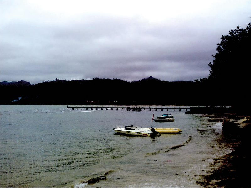 Carita Beach Indonesia by xsos