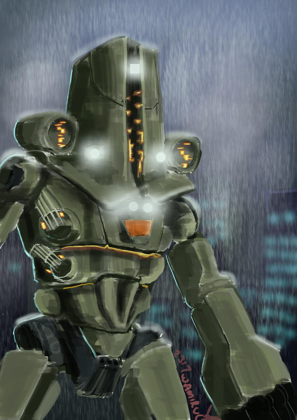 Cherno Alpha Jaeger | www.imgkid.com - The Image Kid Has It! Pacific Rim Cherno Alpha Destroyed