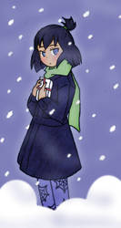 Samiko in the snow by PureEvilInABottle