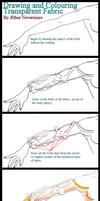 How to Draw Transparent Cloth