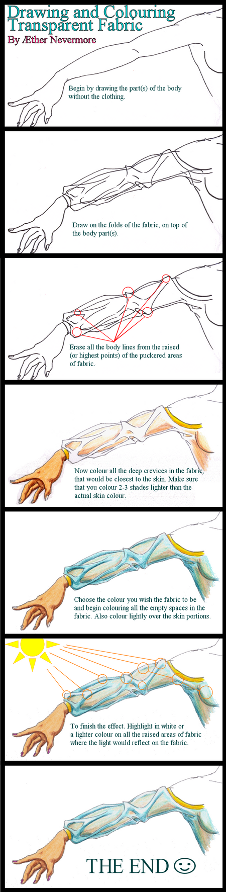 How to Draw Transparent Cloth by moved-to-dollgrownup