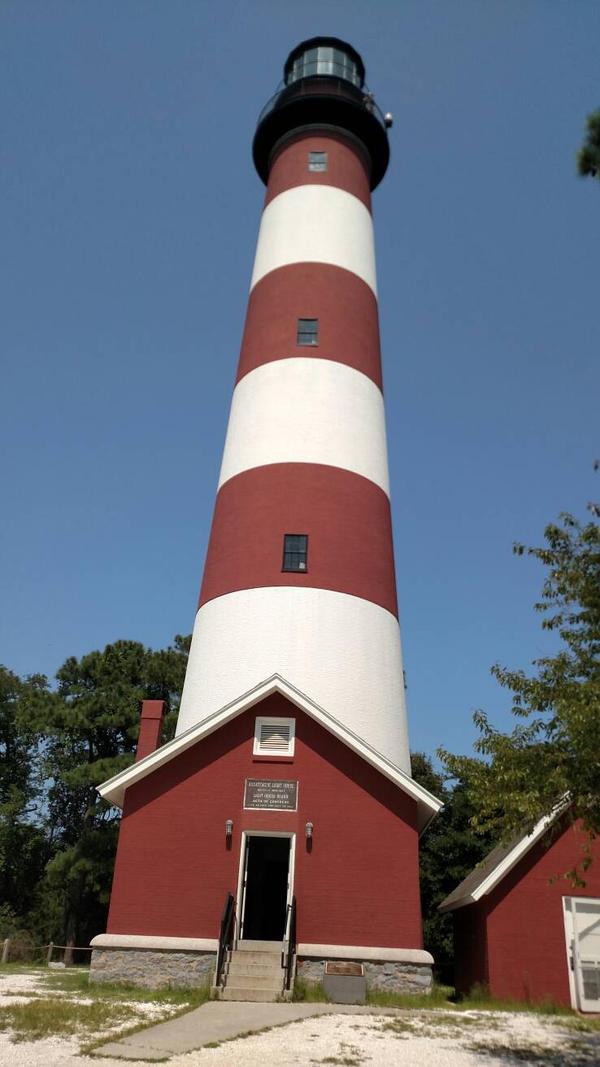 Chincoteague island light house