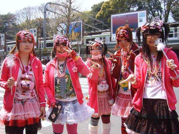 Decora Girls By Amuroholic On Deviantart