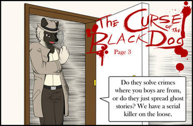 The Curse of the Black Dog: Page 3