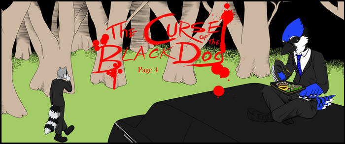 The Curse of the Black Dog: Page 4
