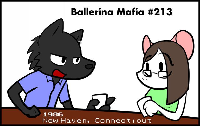 Ballerina Mafia: Black [Preview]