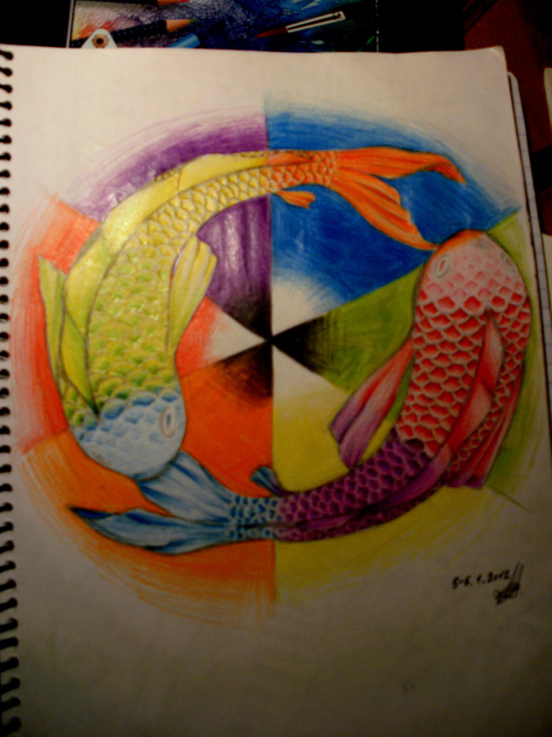 Fishie Color Wheel By Anime Pup