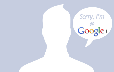Sorry, I'm on Google+ by d-bliss