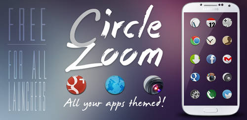 Circle Zoom HD - Free Android Theme