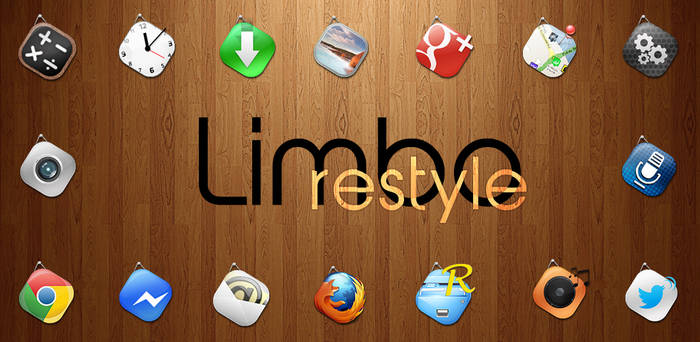 Limbo Restyle HD - Premium Android Icon Pack by d-bliss