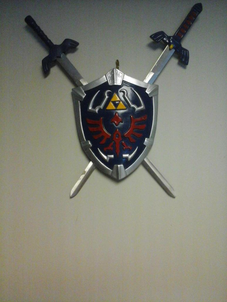 Zelda Sword and Shield Crest by Mansonite6669