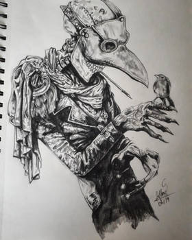 Mr. Plague and His Feathered Friend