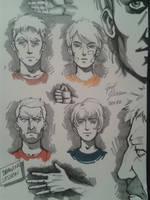 Drawing session by CyrilGlerumArt